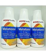 3-Melatonin 5 MG Lemon Liquid Fast Acting 8 oz Nighttime Sleep Aid. 07/2022 - $29.69