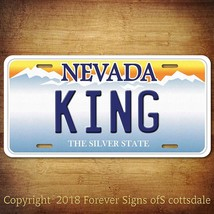 """Playing Cards Suit Symbol """"KING"""" Nevada Vanity Aluminum License Plate Tag - $12.82"""