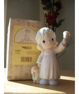"""1993 Precious Moments """"Ring Out the Good News"""" Figurine  - $35.00"""