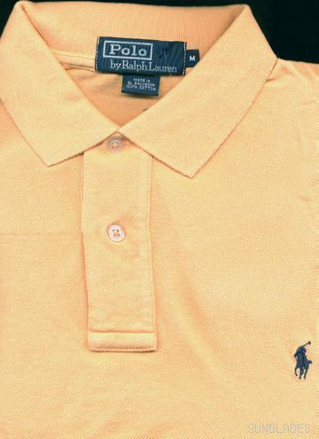 NEW Men's XXL Ralph Lauren POLO Shirt mens SS lt. peach