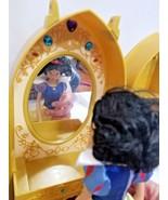 Disney Princess Magic MUSIC Mirror Vanity Beauty Case with Snow White do... - $28.61