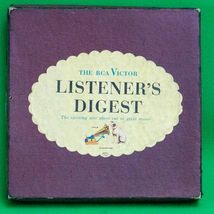 Vintage RCA Victor Listener's Digest Boxed Set Of 10 Classical 45RPM Rec... - $10.95