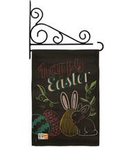 Colorful Easter Eggs Burlap - Impressions Decorative Metal Fansy Wall Bracket Ga - $33.97