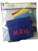 Felt Role Play Kit Postal Mail Carrier New 7 pcs Horizon Group Pretend play image 1