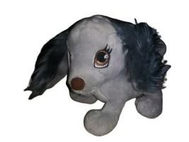 "Mattel Barbie Gray Dog Plush with Sound Panting Barking 5"" Stuffed Animal Toy - $9.89"