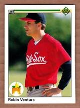 1990 Upper Deck #21 Robin Ventura Chicago White Sox Rookie RC card MINT ... - $1.79