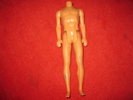 1968 Mattel - Barbie Ken Doll Body w/ Bendable Legs - $8.50