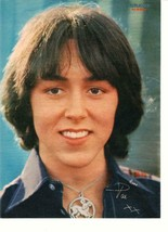 Pat Mcglynn Bay City Rollers teen magazine pinup clipping 1970's Bravo close up - $3.50