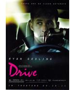 RYAN GOSLING in DRIVE MOVIE Promo POSTCARD 2011 - $1.95