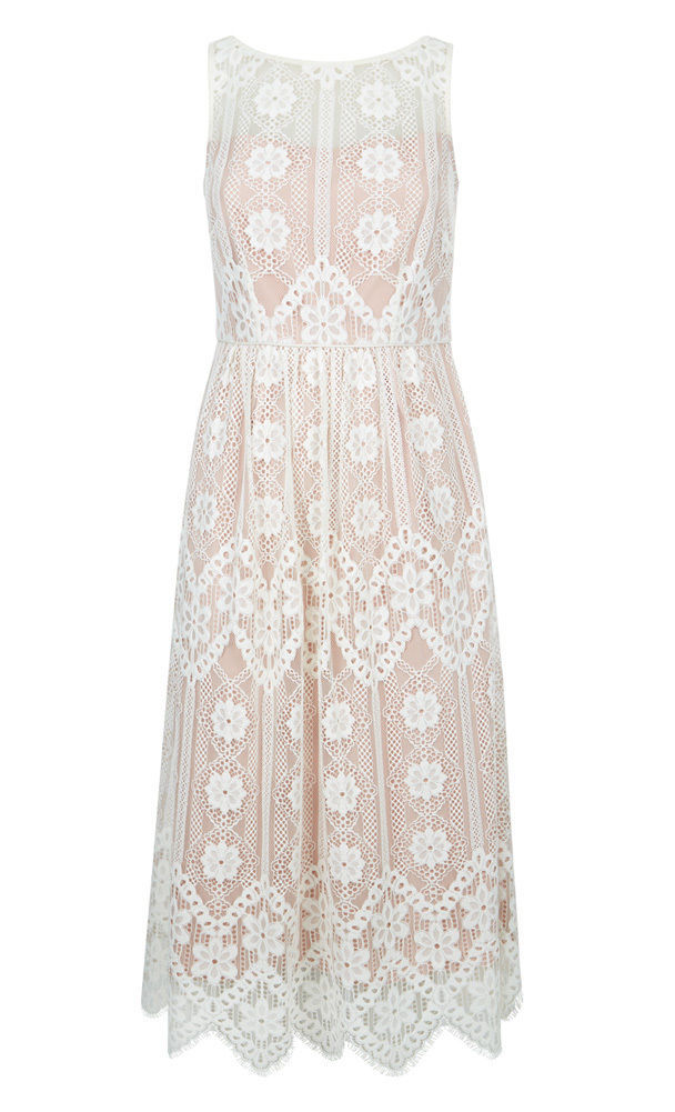 MONSOON Heather Lace Dress Size UK 16 BNWT image 3