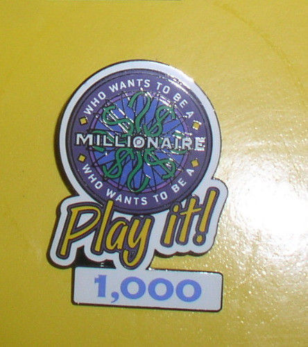 Primary image for Disney Millionaire Play It  1,000  Points Authentic Disney Pin