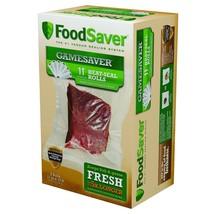 "FoodSaver GameSaver 11"" x 16' Heat-Seal Rolls, 6 Pack N - $74.44"