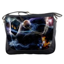 Messenger Bag Tardis Doctor Who Cartoon Animation Movie For New Video Game Fanta - $30.00