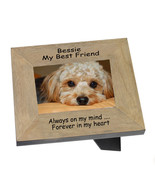 Landscape dog memorial frame for a much loved pet personalised #7 - $32.07