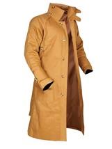 Mens Blade Deckard Runner Harrison Cotton Long Length Coat image 2