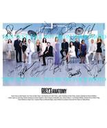 GREYS ANATOMY FULL CAST SIGNED AUTOGRAPH 8x10 RPT PHOTO BY 14 GREY'S DEM... - $18.80