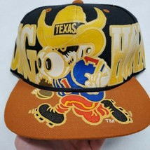 NWOT Texas Longhorns NCAA Football Black Adjustable Snapback Hat Cap New W/O Tag - $34.64