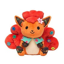Pokemon Center stuffed chiku-chiku sewing Vulpix Japan Import F/S S0507 - $92.11