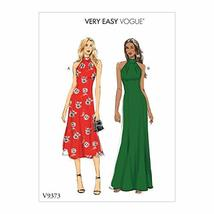 Vogue V9373D5 Very Easy Women's Special Occasion Sleeveless Dress Sewing... - $12.99