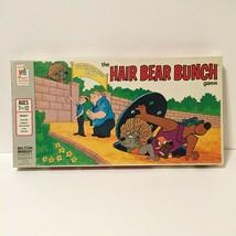 THE HAIR BEAR BUNCH - VINTAGE 1971 MILTON BRADLEY BOARD GAME - HANNA-BAR... - $19.78