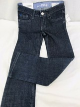 Gap Kids Blue Jeans Girls Size 5 Skinny Slim stretch adjustable waist Denim - $15.19
