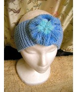 Light Blue and Aqua Ear Warmer - $10.00