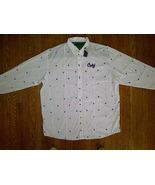 BNWT Coogi Australia Hip Hop Urban White Button Up Front Down Shirt 3xl ... - $59.99