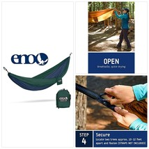 ENO - Eagles Nest Outfitters DoubleNest Hammock, Portable Hammock for Tw... - $127.35