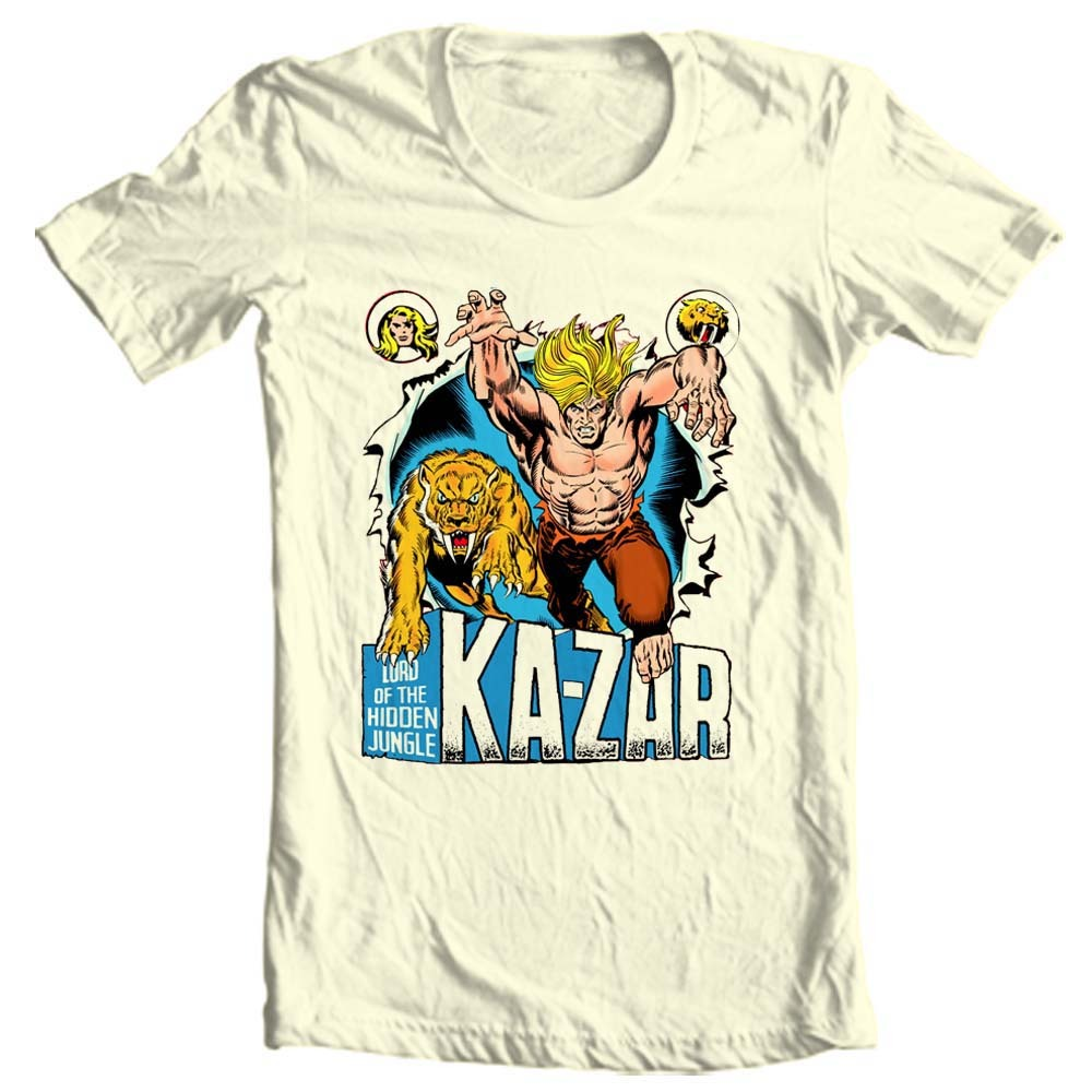 Ge age comic books for sale online graphic tee store savage land jack kirby stan lee 1960s 1970s