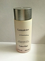 CALVIN KLEIN Contradiction Silkening Body Lotion 6.7oz *NEW. PLEASE READ** - $23.76
