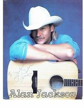 Alan Jackson Autographed 8x10 Photo Signed Country Western Singer Musician - $140.25