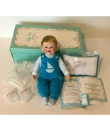Knowles Baby Book Treasures Christophers First Smile Boy Porcelain Doll ... - $29.99