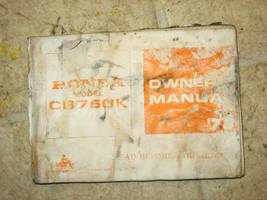 78 Honda Cb750 CB 750 K Servizio & Riparazione Manuale di Istruzioni - $84.61