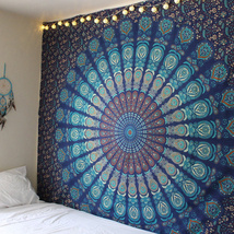 New Indian Mandala Tapestry Hippie Home Decorative Wall Hanging Bohemia ... - $389,18 MXN