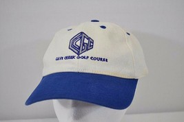 Cave Creek Golf Course White/Blue Baseball Cap Adjustable Back - $17.99