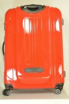 "Traveler's Choice 29"" Sedona new spinner red polycarbonate shell combo lock image 2"