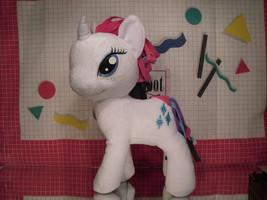 "My Little Pony Plush Rarity 12"" by Funrise - Cloth Hair - $5.85"