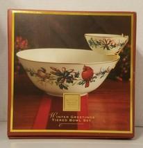 Lenox Winter Greetings Tiered  Bowl Set  - $69.29