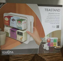 YouCopia 06121-31-WHT TeaStand 100+ Tea Bag Organizer, White - $29.65