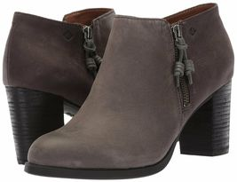 Sperry Top-Sider Womens Dark Grey Dasher Lille Ankle Fashion Bootie STS80148 NIB image 7