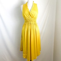 Maeve Anthropologie Le Habana Dress S Yellow - $46.70