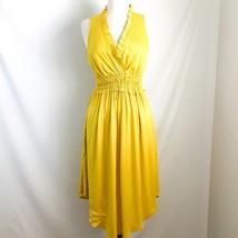 Maeve Anthropologie Le Habana Dress S Yellow - $46.70