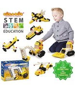 Click-A-Brick Mighty Machines 100pc Building Blocks Set | Best STEM Toys... - $24.37