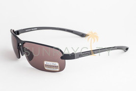 Serengeti Strato Satin Black / Polarized Phd Sedona Sunglasses 7681 - $171.50