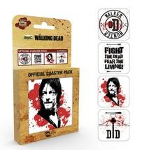 Walking Dead Coaster Pack Brand New Novelty Gift Daryl Dixon Crossbow Se... - $14.79