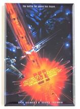 Star Trek 6 FRIDGE MAGNET (2.5 x 3.5 inches) movie poster undiscovered c... - $7.95