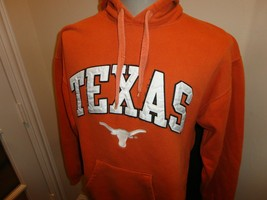 Sewn Orange Texas Longhorns NCAA 70-30 Reebok Heisman Hooded Sweatshirt ... - $36.88