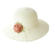 SAGACE hats Women Summer beach sun Hat Wide Brim Cap Wide Brim Straw Floppy Derb image 4