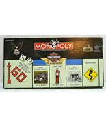 Monopoly Harley-Davidson Motorcycle Live to Ride Edition Parker Bros. 2000  - $49.99
