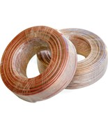 100ft 16ga Speaker Home Theater Car Sound DC Transparent Cable Wire - $17.51